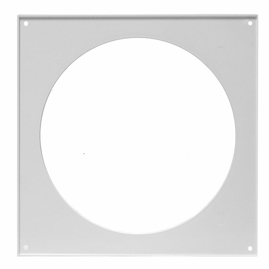 10НКП Эра. Накладка торцевая пластик 150х150, для воздуховода D100