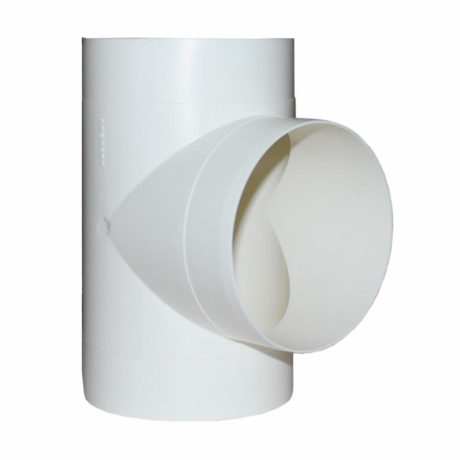 10ТП Эра. Тройник Т-образный пластик D100