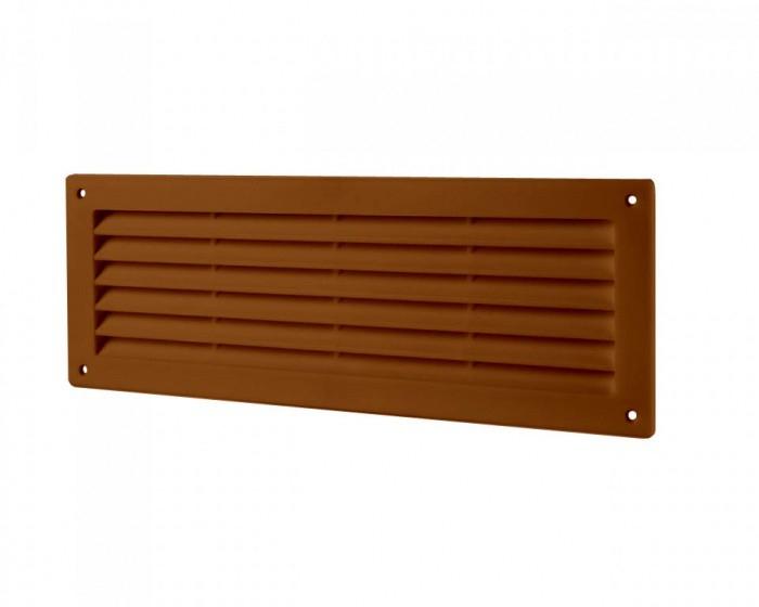 4409ДП кор Эра. Решетка переточная (коричневый)