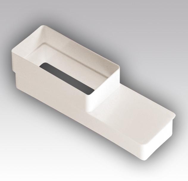 511РП620П Эра, Соединитель эксцентриковый плоского воздуховода с плоским 55х110/60х204