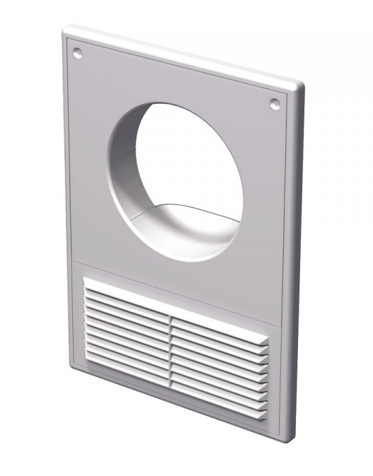 Вентс. Решетка вентиляционная МВ 100 Кс АБС