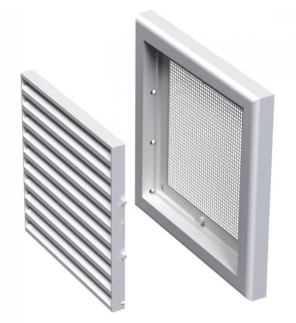 Вентс. Решетка вентиляционная МВ 100 с