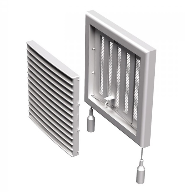 Вентс. Решетка вентиляционная МВ 101 Рс