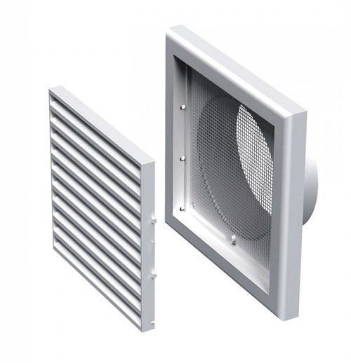 Вентс. Решетка вентиляционная МВ 120 Вс