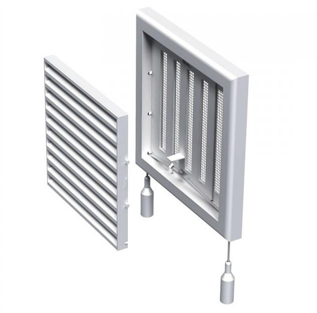 Вентс. Решетка вентиляционная МВ 120 Рс