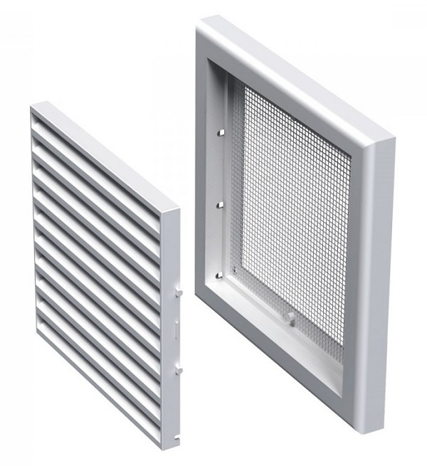 Вентс. Решетка вентиляционная МВ 120 с