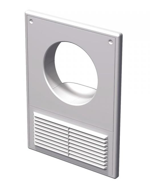 Вентс. Решетка вентиляционная МВ 125 Кс АБС