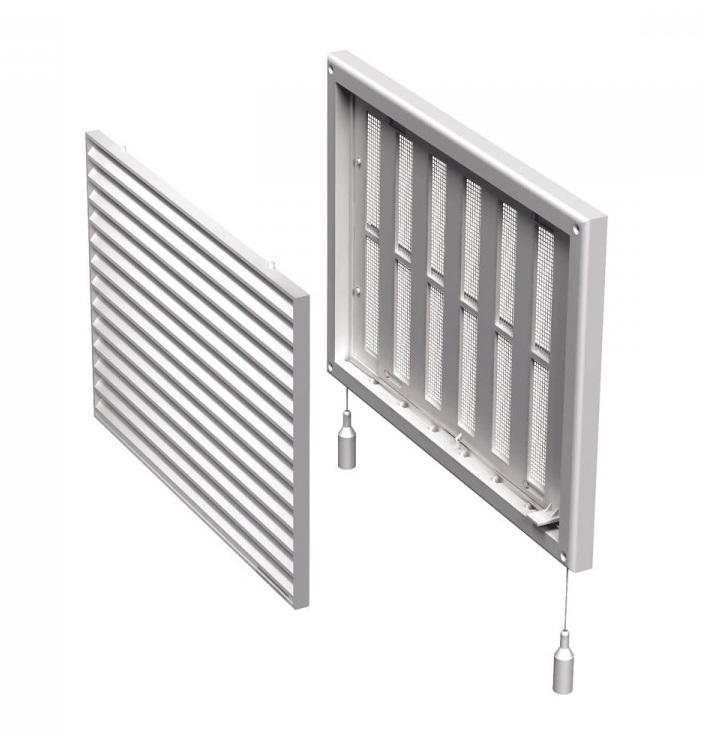 Вентс. Решетка вентиляционная МВ 170 Рс