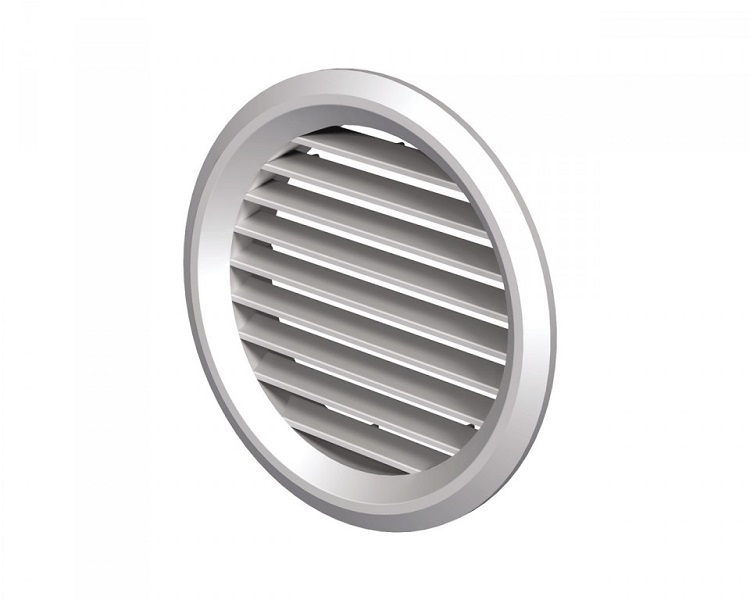 Вентс. Решетка вентиляционная МВ 50/2 бВс белый ABS