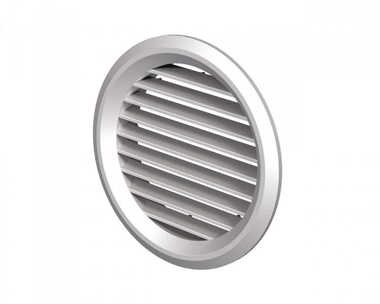 Вентс. Решетка вентиляционная МВ 50/4 бВс белый ABS
