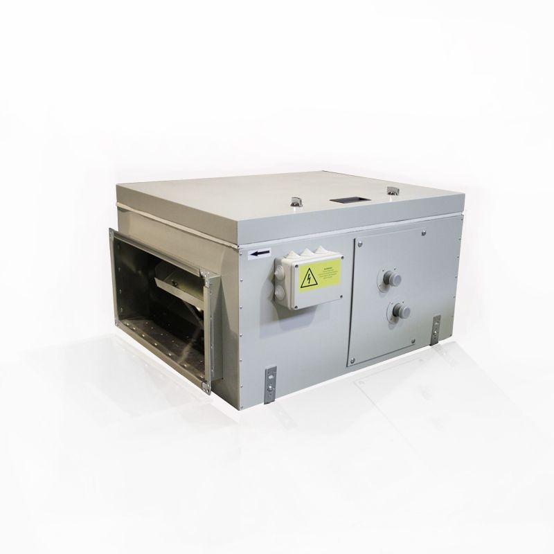 Приточная установка Благовест ВПУ-1500 W-GTC с автоматикой GTC и водяным нагревателем