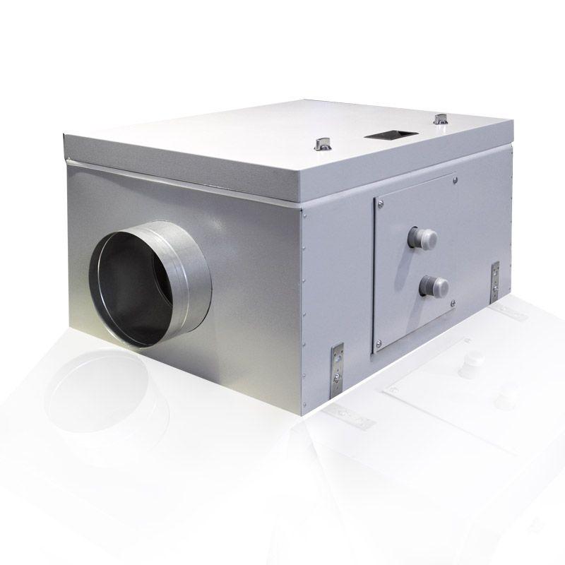 Приточная установка Благовест ВПУ-800 W-GTC с автоматикой GTC и водяным нагревателем