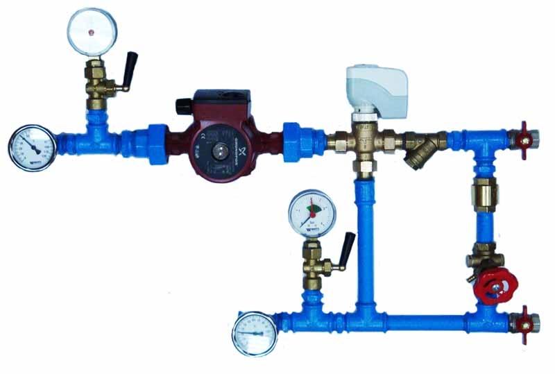 Смесительный узел MU 40-2,5 HW (исполнение 5)