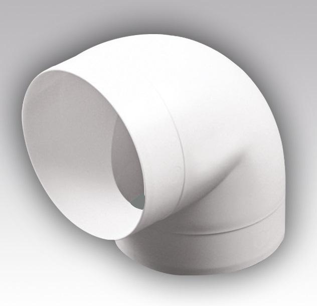 15ККП Эра. Колено круглое пластик 90° , D150