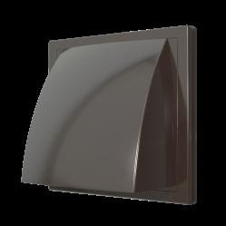 1515К10ФВ кор Эра. Выход стенной с обр.клапаном (коричневый)