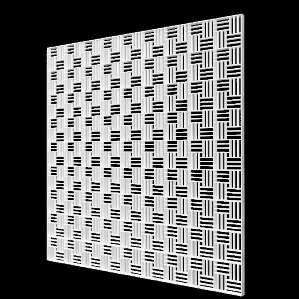 П6060ДП Fusion Эра. Решетка вентиляционная приточно-вытяжная