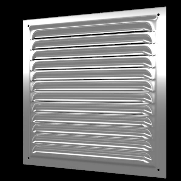 3030МЦ Эра. Решетка вентиляционная стальная оцинкованная 300х300