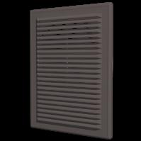 2525Р кор. Эра. Решетка с рамкой (коричневый)