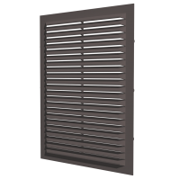 2323С кор Эра. Решетка накладная (коричневый)