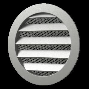 12,5РКМ Эра. Решетка круглая алюминиевая
