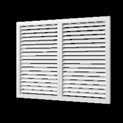 П60150Р бел Эра. Решетка радиаторная (белый)