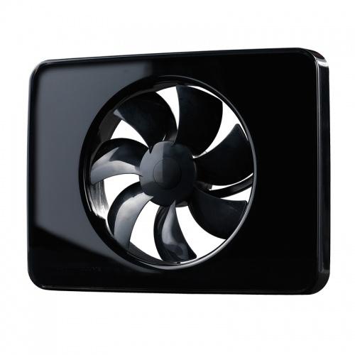FRESH Накладной вентилятор Intellivent Black (черный)