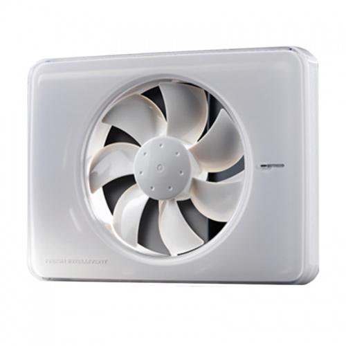 FRESH Накладной вентилятор Intellivent White (белый)