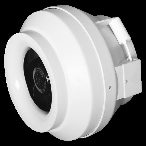 CYCLONE-EBM 100 Эра. Вентилятор центробежный канальный приточно-вытяжной пластиковый BB D100