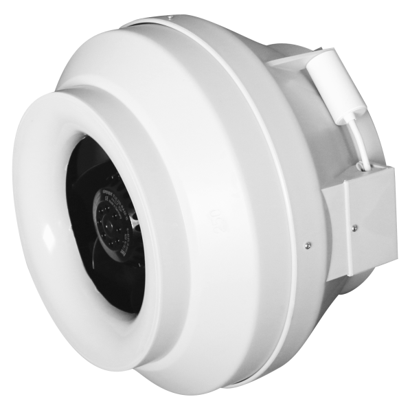 CYCLONE-EBM 200 Эра. Вентилятор центробежный канальный приточно-вытяжной пластиковый BB D200