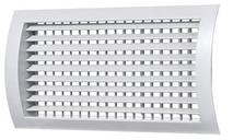 Решетка регулируемая двухрядная цилиндрическая ДВ-ЦР2 150x150