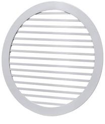 Решетка круглая жалюзийная ДВ-КР2-ЛР1 д.200