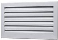 Решетка жалюзийная металлическая ДВ-НГ 1000x1000