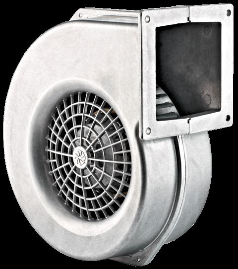 Вентилятор радиальный, ARGEST AL 140, двухполюсный двигатель, увеличенный статор