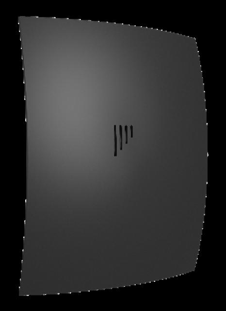 BREEZE 4C Matt black, Вентилятор осевой вытяжной с обратным клапаном D 98, декоративный