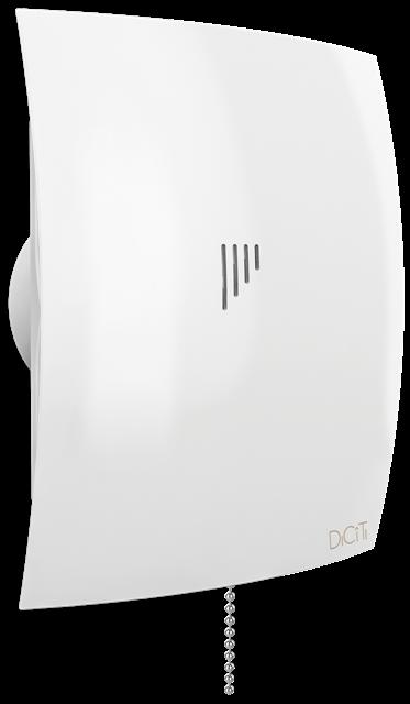 BREEZE 4C, Вентилятор осевой вытяжной с обратным клапаном, D 98