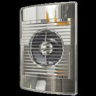STANDARD 4C Chrome Эра, Вентилятор осевой вытяжной с обратным клапаном D 100, декоративный