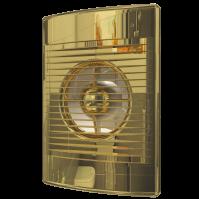 STANDARD 4C Gold Эра, Вентилятор осевой вытяжной с обратным клапаном D 100, декоративный