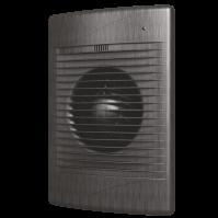 STANDARD 5C black Al Эра. Вентилятор осевой вытяжной с обр. клап. D 125, декоративный