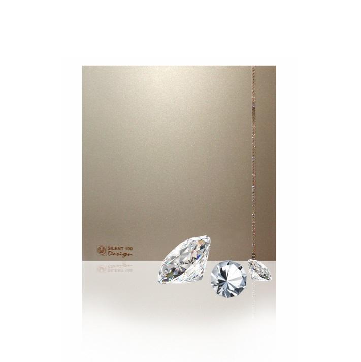 Soler & Palau Вентилятор бытовой Silent-100 CZ Champagne Design Swarovski