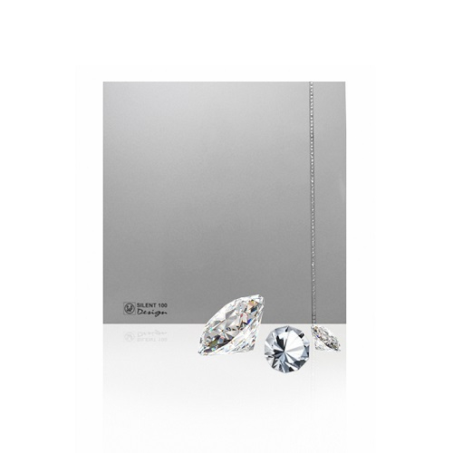 Soler & Palau Вентилятор бытовой Silent-100 CZ Design Silver Swarovski