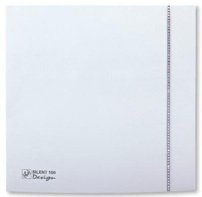 Soler & Palau Вентилятор бытовой Silent-100 CZ Design Swarovski