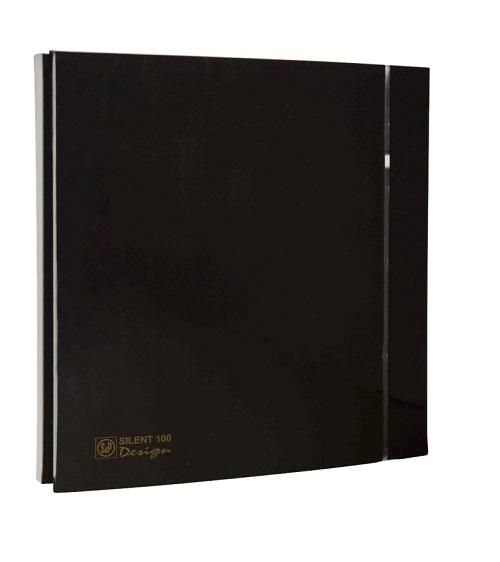 Soler & Palau Вентилятор бытовой Silent-100 CZ Design-4C Black