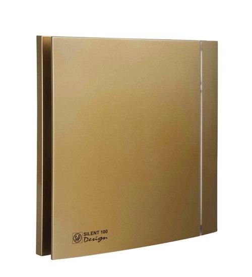 Soler & Palau Вентилятор бытовой Silent-100 CZ Design-4C Gold