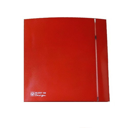 Soler & Palau Вентилятор бытовой Silent-100 CZ Design-4C Red