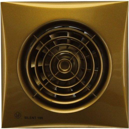 Soler & Palau Вентилятор бытовой Silent-100 CZ Gold