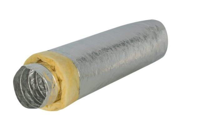 Isodec A23i-127мм х 10м (DEC) воздуховод изолированный